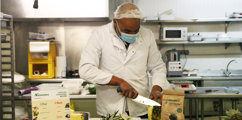 Les Alchimistes et Newrest introduisent le compostage dans le catering aérien
