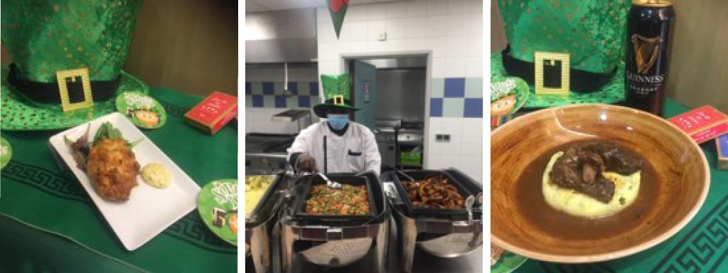 Saint Patrick chef Newrest