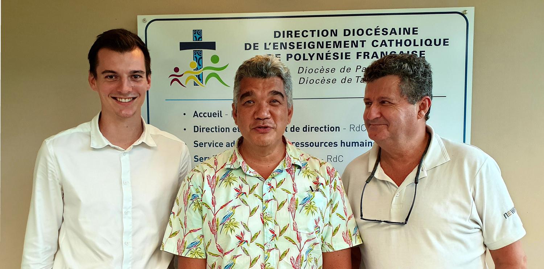 Newrest renouvelle sept sites de restauration scolaire en Polynésie Française