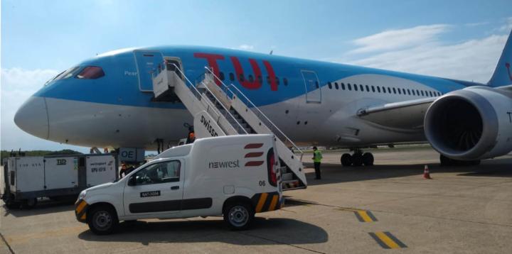 TUI inflight catering Brazil