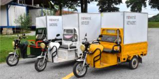 Electrical Tuktuks Laos