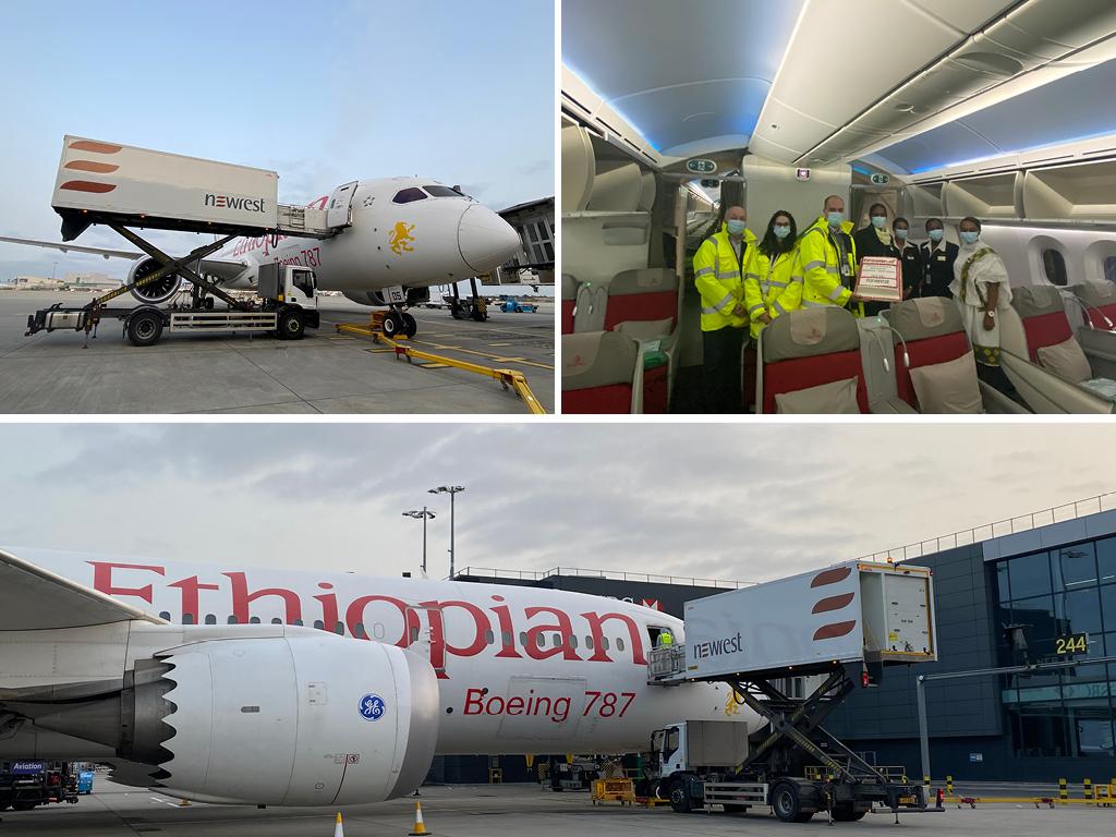 Ethiopian Airlines Newrest London Heathrow