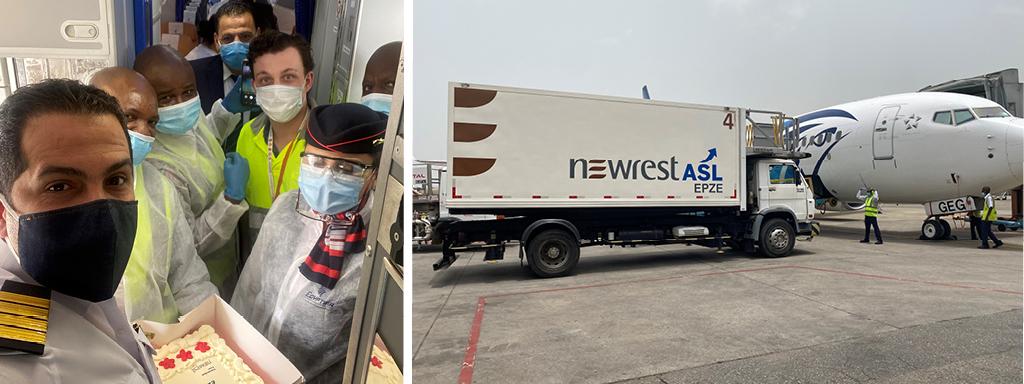 Newrest Nigeria inflight catering
