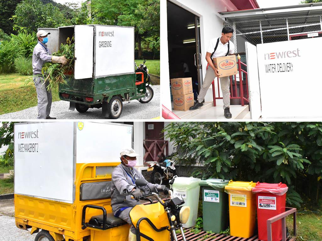 Tutuks électriques Laos