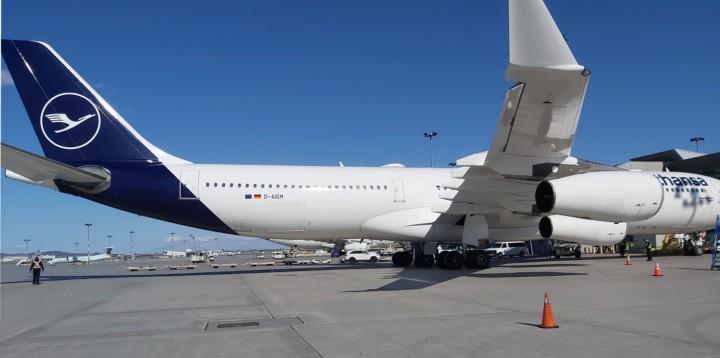 Lufthansa resumption inflight catering Montreal