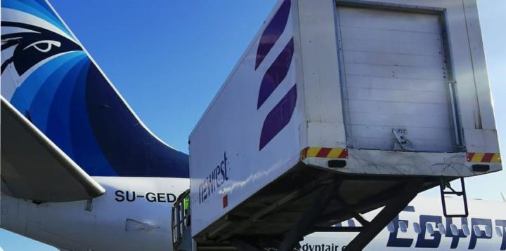 Egyptair Madrid inflight catering