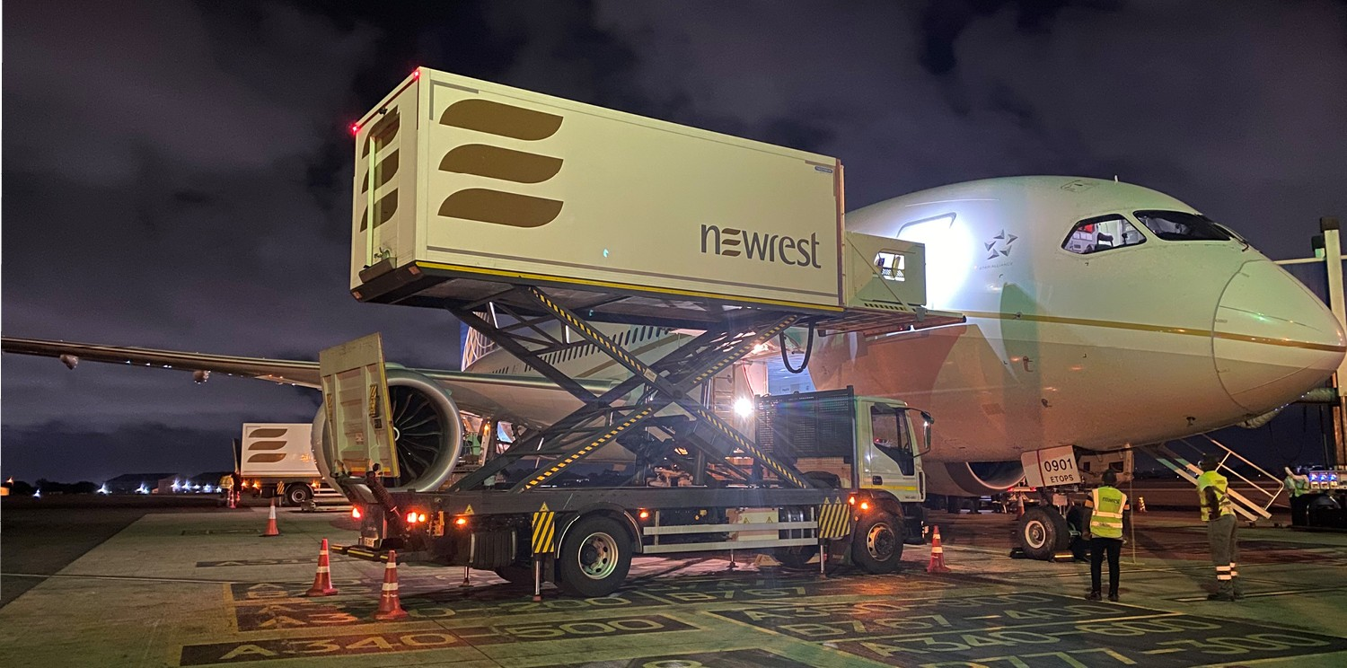 Newrest's inflight catering rises with the resumption of the airline industry