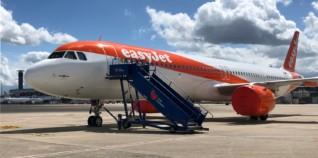EasyJet fleet Paris airline