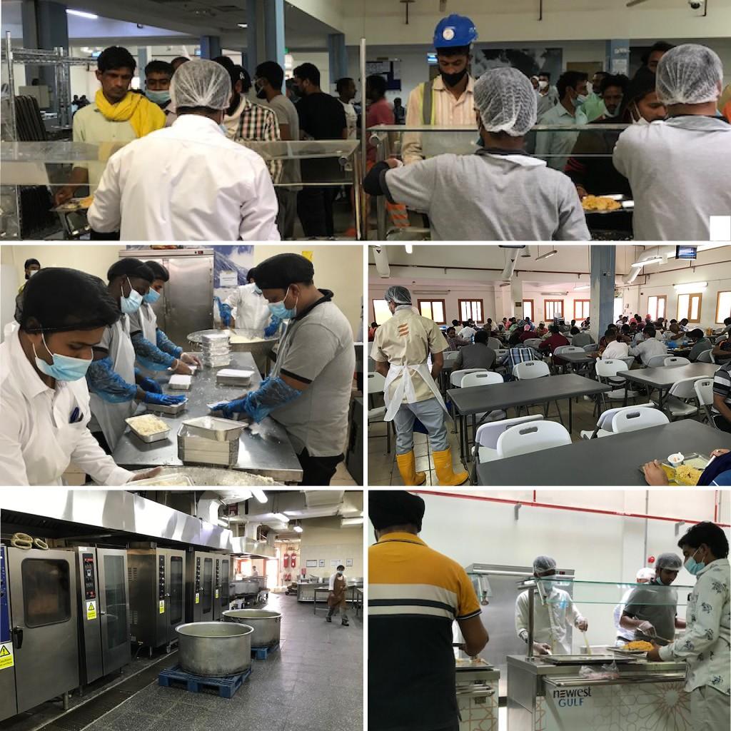 Qatar catering development