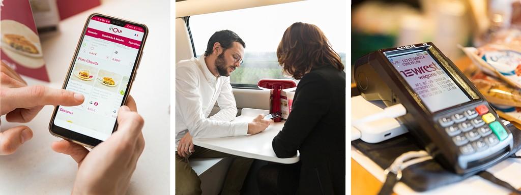 SNCF rail catering partnership