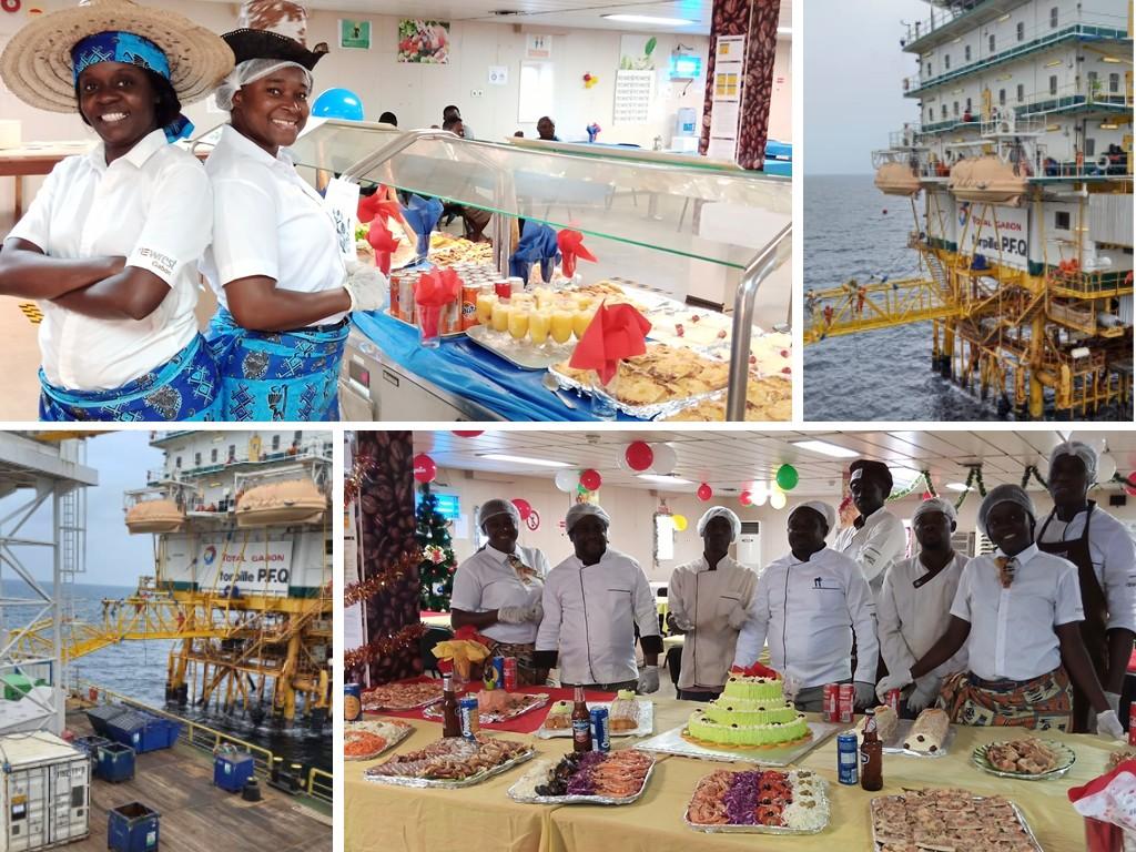 Gabon Total bases vie offshore