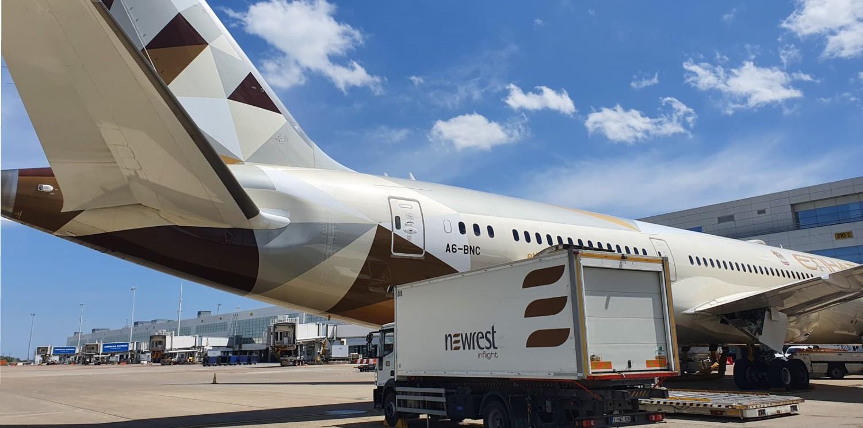 El sector aéreo vuelve a despegar con los servicios de catering de Newrest