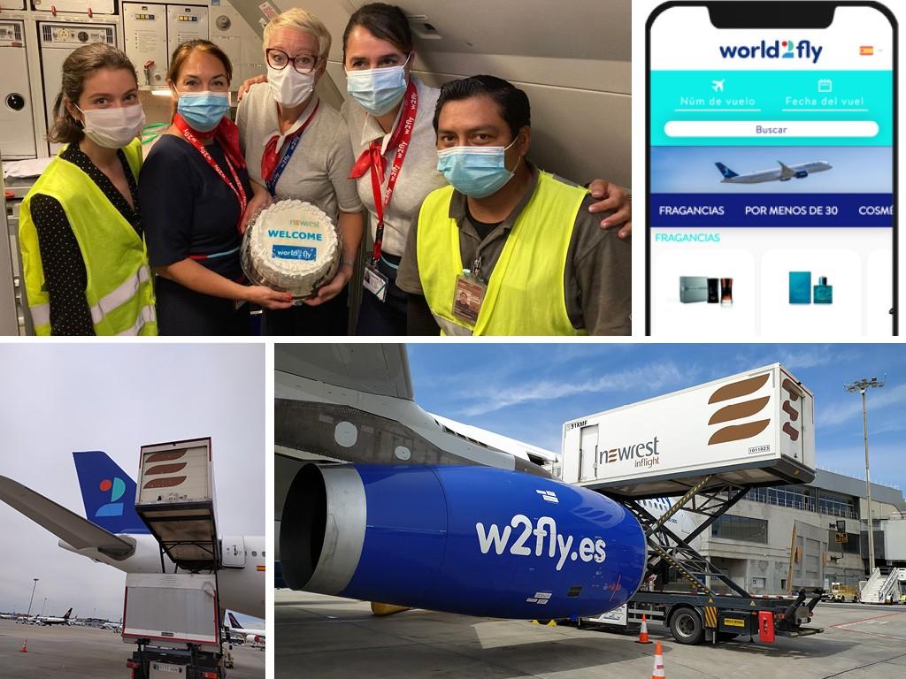airline digital pre-order solution