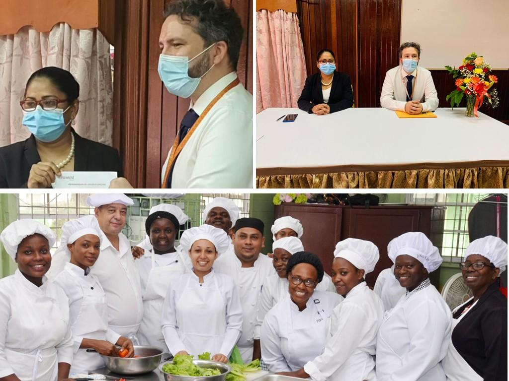 catering program school Guyana