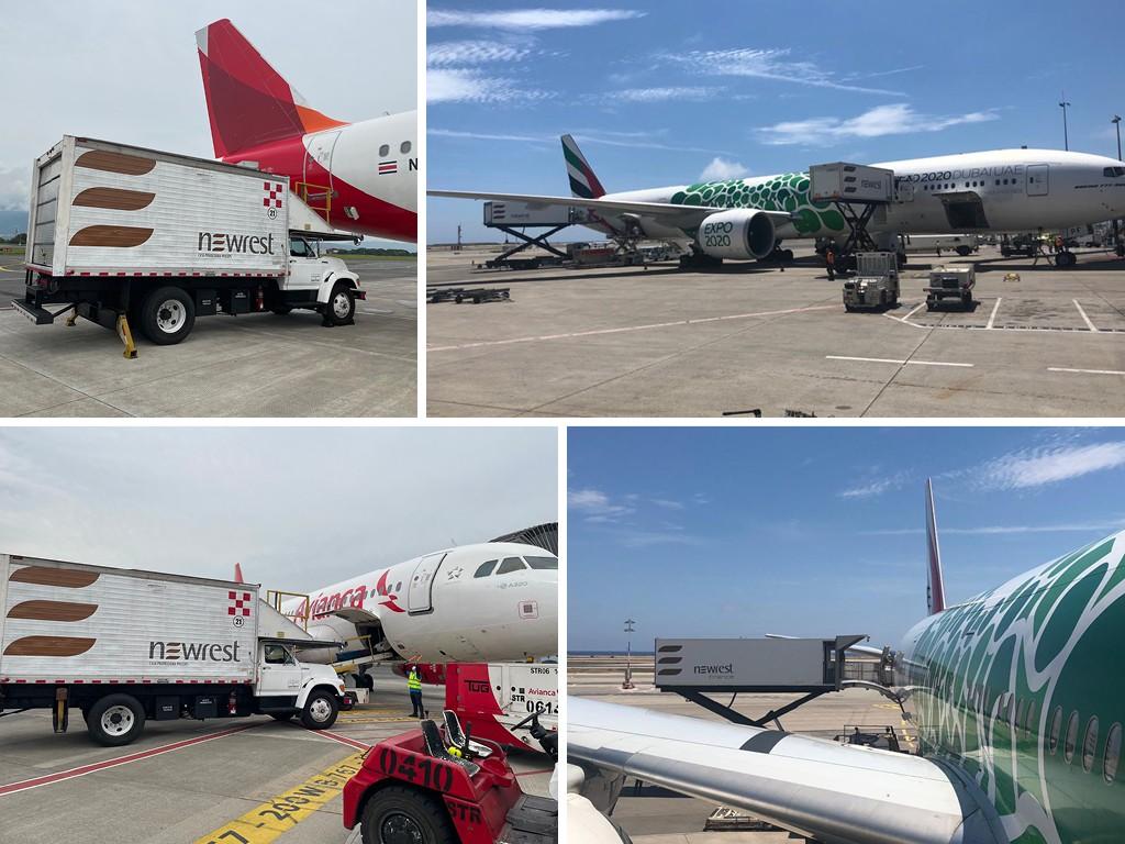 inflight catering Avianca Emirates