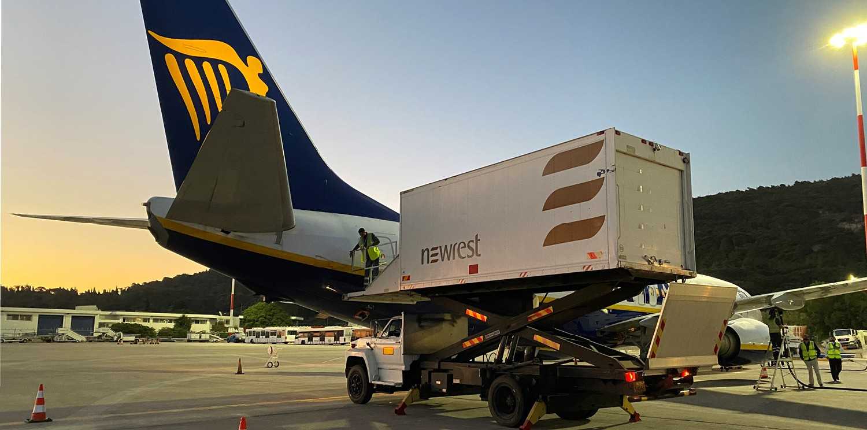 La actividad de restauración aérea de Newrest crece en todo el mundo