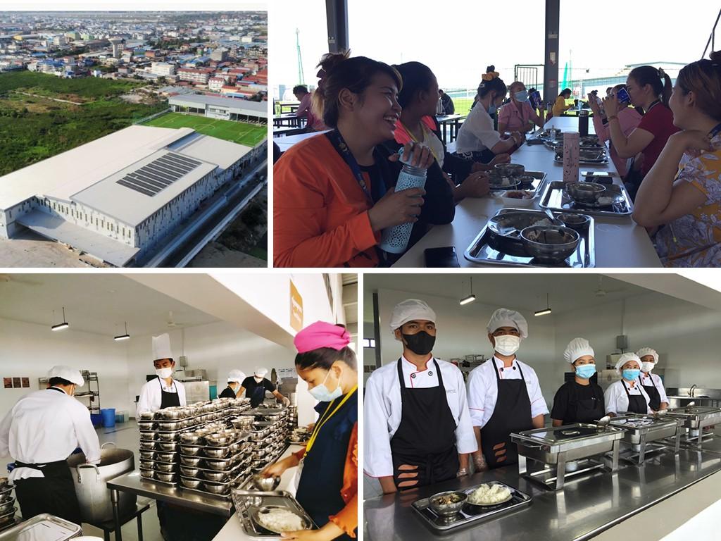 Sustainable catering Suntex Cambodia