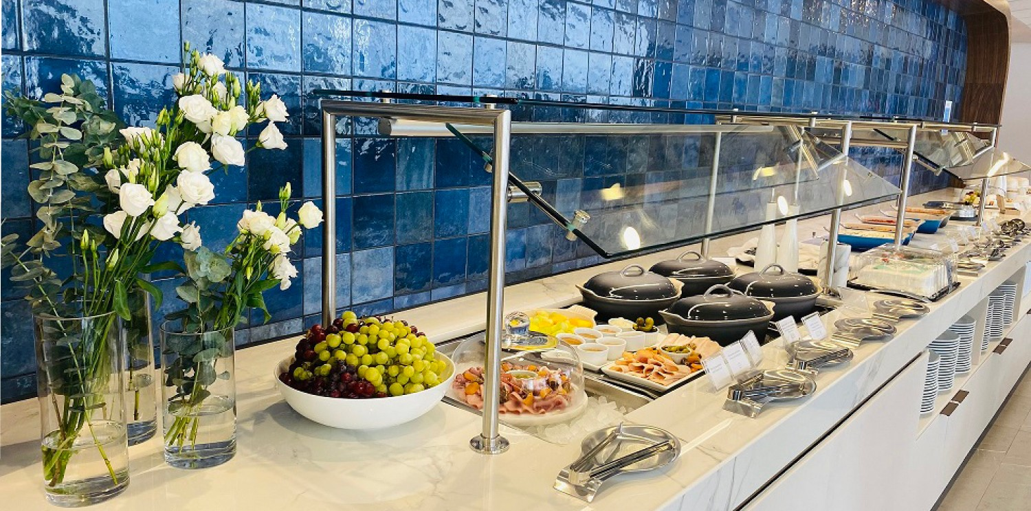 Newrest provides catering services to the new Air France lounge in Montreal