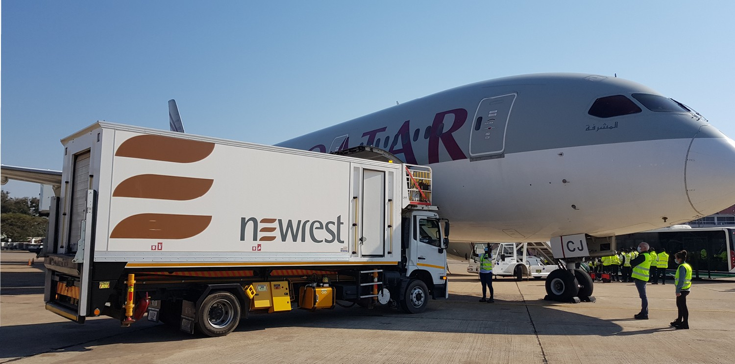 Newrest wins a new inflight catering contract in Zambia with Qatar Airways