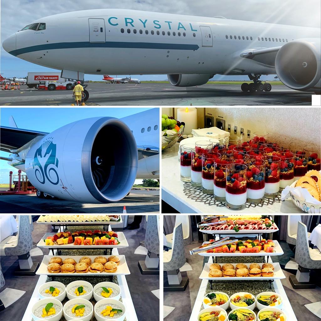 catering Crystal VVIP flight