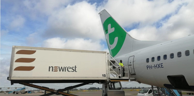 Newrest renueva su contrato de catering con Transavia en los Países Bajos