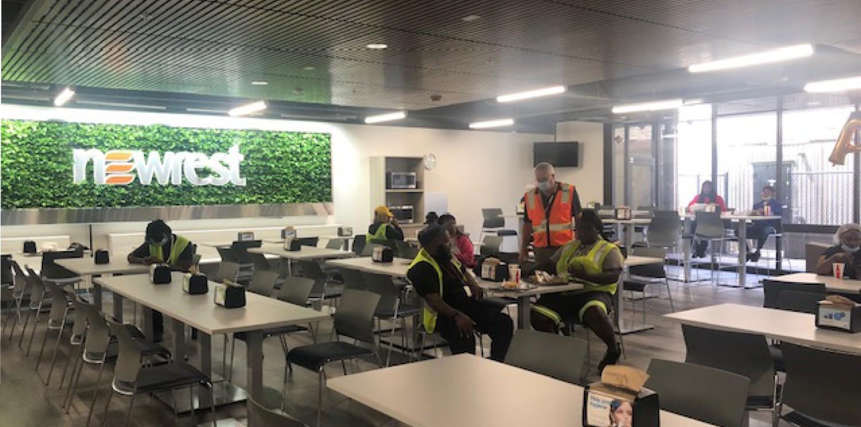 En Atlanta, el entorno laboral de la unidad de catering está evolucionando