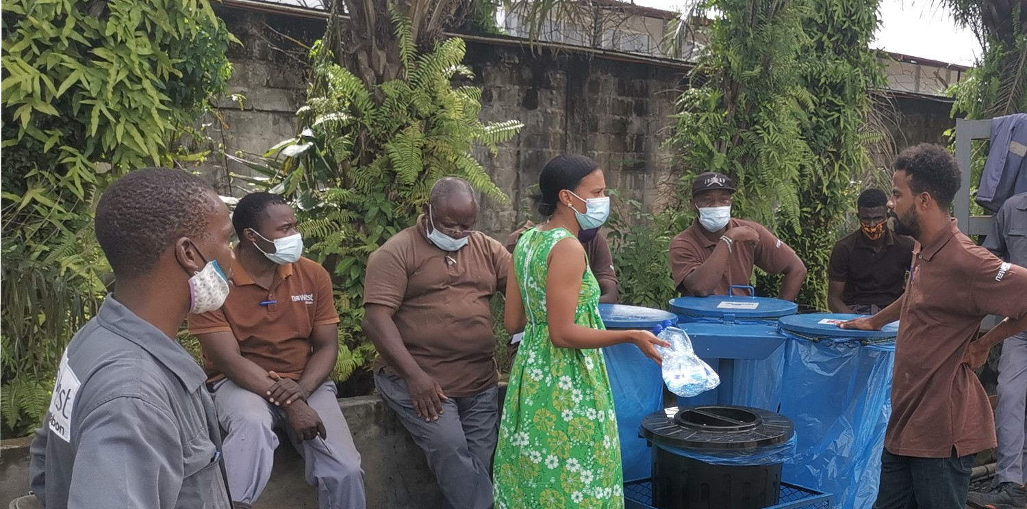 Focus: discover all concrete CSR actions of Newrest in Gabon