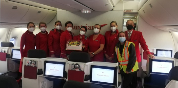 Austrian Airlines catering Montreal